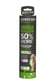 Evercare Pet, Mega Lint Roller Refill, 50 Sheet Roll